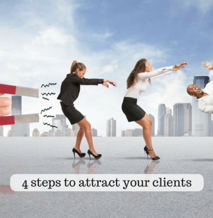steps attract clients