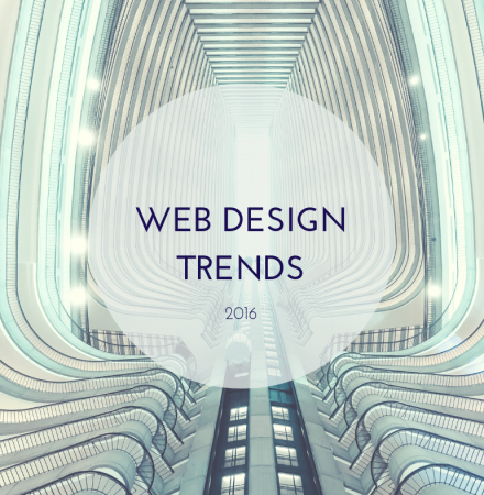 Upcoming Web Design Trends In 2016